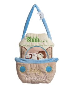 Take a look at this Sleeping Baby Door Hanger on zulily today!