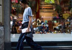 michela meni on Le21eme.com Milan, My Style, Happy, Pants, Fashion, Trouser Pants, Moda, Fashion Styles, Ser Feliz
