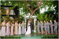 This Key West Wedding was 12 Years in the making. Lara and Tyler's Ernest Hemingway House Wedding was the perfect way to end my wedding season in Key West, Florida.  This was my first destination wedding and I hope to have more in the future!  December with palm trees, string lights and chandeliers hanging from …