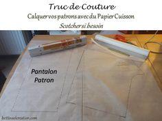 Passion.Couture.Made in france: Truc et astuce de couture pour décalquer un patron source photo http://minu.me/dqpv