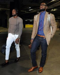 lebron and dwade with murses