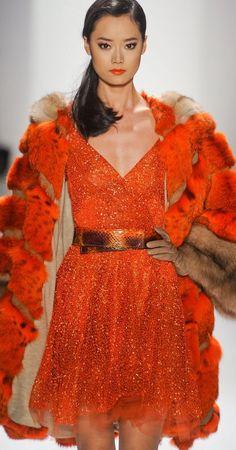 Orange Gown, Orange You Glad, Orange Fashion, Orange Color, Formal Dresses, Purple, Marmalade, Colors, Red