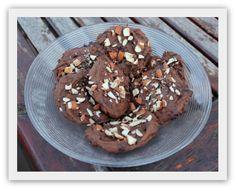 Sjokolade-og mandelcookies!