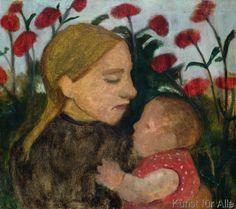 Paula Modersohn-Becker - Mother and Child, c.1904