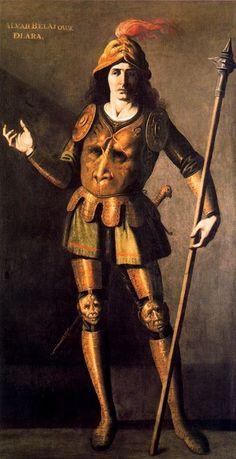 Francisco de Zurbarán  Alvar Velázquez de Lara  Painting from the series 'The Seven Infants of Lara' (a Spanish Medieval legend)