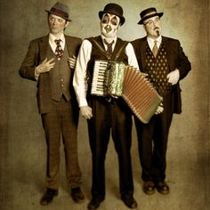 The Tiger Lillies. My style icons.