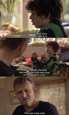 My favourite show, Outnumbered.