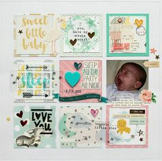 Sweet+Little+Baby - Crate Paper - Little You Collection