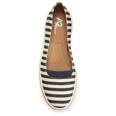 Women's A2 by Aerosoles Funny Bone Loafers - Navy (Blue) 10.5
