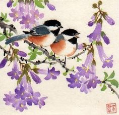 Artimañas: Selección de acuarelas de flores - Flowers - watercolors  by Jing Gao Dalia
