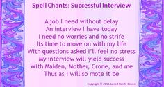 Successful Interview Chant