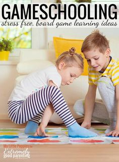 """How to use board games, card games, and other tabletop fun for teaching and learning at home. A great way to homeschool or  """"gameschool"""" with kids."""