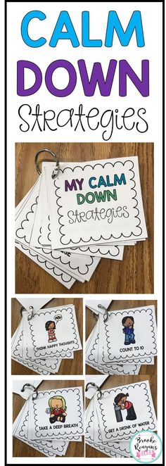 Calm Down Tool Kit Calm down strategies for students to use when they are upset and need to be calm. Portable for students to have all day long when they need them. Classroom Behavior, Special Education Classroom, Future Classroom, Autism Classroom, Mindful Classroom, Classroom Ideas, Behaviour Management, Classroom Management, Coping Skills