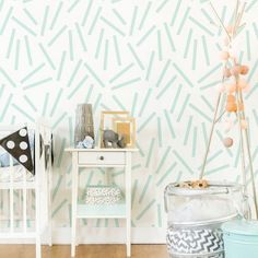 Confetti Removable Wallpaper Self Adhesive Wall Stickers