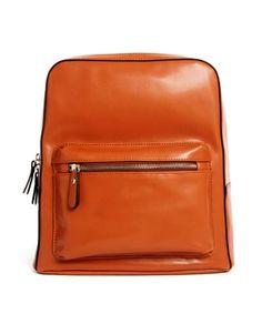 7c63d07798da Image 1 of ASOS Clean Backpack with Adjustable Straps Fashion Backpack