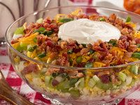 Seven Layer Potato Salad