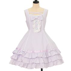 ♡ Angelic pretty ♡ Ribbon ruffle jumper skirt http://www.wunderwelt.jp/products/detail10701.html ☆ ·.. · ° ☆ How to order ☆ ·.. · ° ☆ http://www.wunderwelt.jp/user_data/shoppingguide-eng ☆ ·.. · ☆ Japanese Vintage Lolita clothing shop Wunderwelt ☆ ·.. · ☆