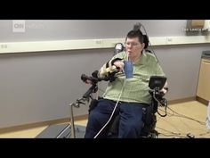 Paralyzed man moves hand
