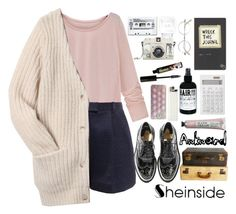 """""""I am the son and heir of nothing in particular..."""" by azra-rnr ❤ liked on Polyvore featuring moda, 3.1 Phillip Lim, Acne Studios, deepstyle, Muji, Masquerade, Lomography y TheBalm"""