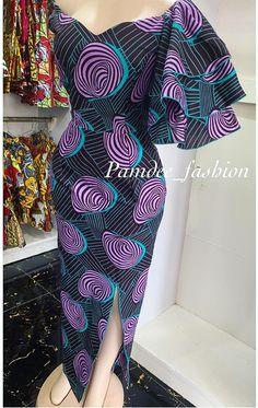 African Print Dress Designs, African Print Fashion, Africa Fashion, African Attire, African Wear, African Dress, Ankara Short Gown Styles, Trendy Ankara Styles, African Prom Dresses