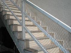 Rede de proteção em escadas...