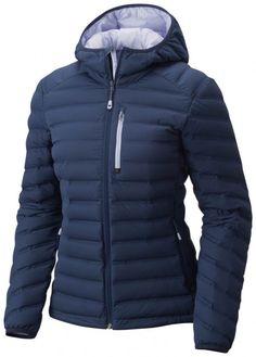 Mountain Hardwear Stretchdown Hooded Jacket Zinc