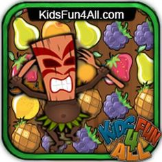 #Cocktail Fruit Frenzy is a #Match 3 #game. On an #island far away #fruit game starts to #play. Match 3 or more juicy fruits to get more #points and finish the #level quickly as possible.
