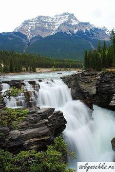 Водопад Атабаска, Канада