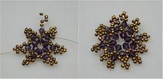 How to make stud earrings step2