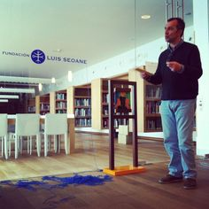 Taller realizado en A Coruña - Fundación Luis Seoane. Fotografías de Cristina Sánchez Legido.
