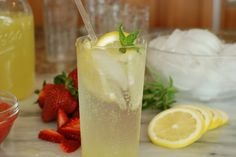 """Simply So Good: Old Fashion Lemonade from the """"Anne of Green Gables Cookbook"""""""