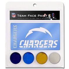 San Diego Chargers War Paint