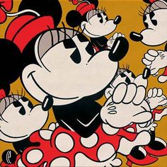 Disney Fine Art - Many Minnies. Biggs Ltd. Gallery. Heirloom quality bridal, art, baby gifts and home decor. 1-800-362-0677. $295.