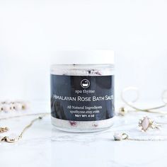 Himalayan Rose Bath Salts - The perfect gift to relax and unwind