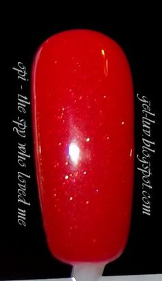 """Click to make bigger!     From http://gel-luv.blogspot.com  OPI Gelcolor SOG Polish in """"The Spy Who Loved Me"""""""