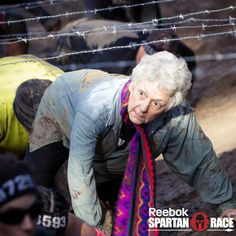 Spartan Race - 74 year old Linda Barber conquers Malibu again  My new goal. I feel the need to workout now :P