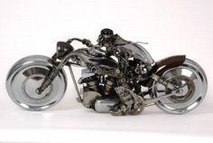 james corbett car parts sculpture OccS6 58