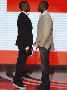 Kanye West vs. 50 Cent - 17 Ugliest Celebrity Feuds—Wife Snatchers and Obsessed Stalkers