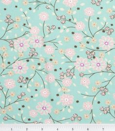 Keepsake Calico Fabric- Caroline Floral    # 11181484    reg. 7.99