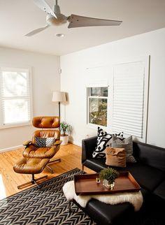 modern living.  beautiful eames chair my dream