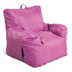 Love This Pink Small Bean Bag Armchair On