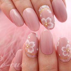 お花見シーズン到来桜ネイルで指先までピンクに染めて春を満喫しましょ