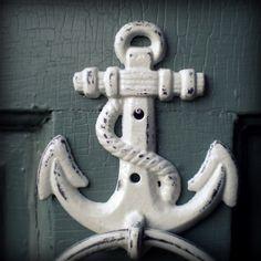 Anchor Door Knocker, Come on in!