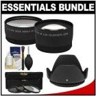 Essentials Bundle with Telephoto Camera Store, Wide Angle Lens, Cleaning Kit, Camcorder, Shopping Hacks, Angles, Lenses, Filters, Essentials