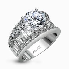 An exclusive design by Simon G., the MR1922 Engagement Ring is a stunning piece of jewelry sure to please. Check out this designer piece today!