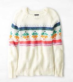 AEO Snowflake Sweater - Buy One Get One 50% Off