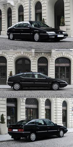 1999 Citroën XM Pallas / Bertone / France / black / 17-438 Citroen Car, Classic Cars, Automobile, Wheels, France, Technology, Vehicles, Design, Cars