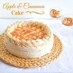 Cinnamon Cake, Tiramisu, Birthday Cake, Apple, Baking, Ethnic Recipes, Kitchen, Apple Fruit, Cinnamon Pie