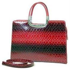 Dasein Women S Classic Croco Embossed Leather Briefcase Handbag Crossbody Bag Red