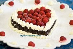 Recipe for gluten free Valentine's day chocolate heart cake